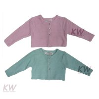 Ditsy 2: Fluffy Boucle Knit Shrug (1-3 Years)