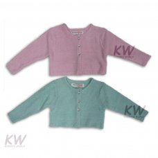 Ditsy 2: Fluffy Boucle Knit Shrug (1-3 Years)