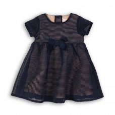 Dress Up 1: Striped Organza Dress (0-12 Months)