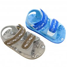 E170: Holiday Print EVA Sandals (15-24 Months)