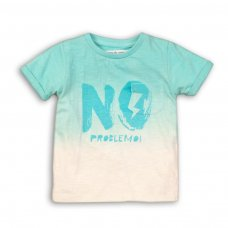 Eco 5P: Dip Dye T-Shirt With Front Print (3-8 Years)
