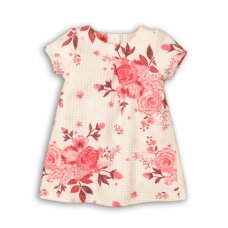 Enchanted 3: All Over Print Jaquard Dress (9 Months-3 Years)