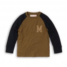 Expo 11P: Contrast Sleeve Raglan Top (8-13 Years)