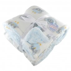 FBP200-B: Reversible Elephant Printed Boxed Wrap