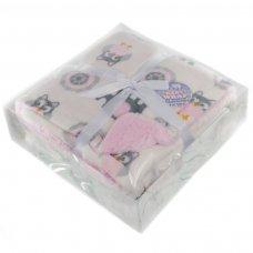 FBP200-P: Reversible Elephant Printed Boxed Wrap