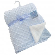 FBP29-B: Deluxe Blue Bubble Mink Wrap