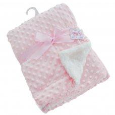 FBP29-P: Deluxe Pink Bubble Mink Wrap