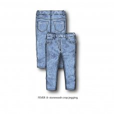 Fever 8P: Crop Jegging  (8-13 Years)