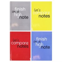 FN4744: 2 Pack 140 Pages A6 Hardback Notebook