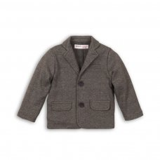 Formal 3P: Knitted Textured Unlined Blazer (3-8 Years)