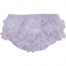 FP14-W: Cotton Frilly Pants (NB-18 Months)