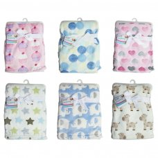 FS414: Supersoft Fleece Baby Blanket