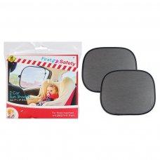FS512: 2 Pack Car Sunshades