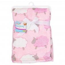FS562: Supersoft Sheep Fleece Baby Blanket