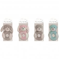 FS607: Plush Baby Handbell Rattle