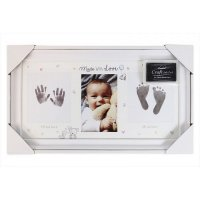 FS612: Hand & Foot Print Photo Frame