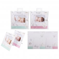 FS613: 2 Pack Baby Announcement Card
