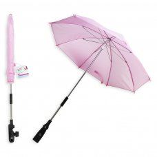 FS630: 16 inch Plain Pink Parasol