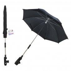 FS631: 16 inch Plain Black Parasol