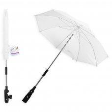 FS634: 16 inch Plain White Parasol