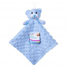 FS692: Soft Double Sided Baby Comforter Blanket (Blue Only)