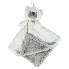 FS693: Soft Double Sided Baby Comforter Blanket (White Only)