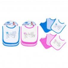 FS705: Baby 3pk Velcro Bibs