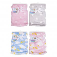 FS714: Supersoft Fleece Baby Blanket