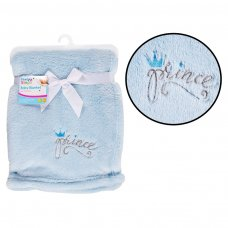 FS735: Supersoft Prince Fleece Baby Blanket
