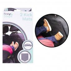 FS767: 2 Pack Car Kick Mats