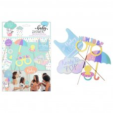 FS810: Baby Shower 8 Pack Photo Props