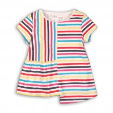 Funhouse 7: Striped Panel Top (9 Months-3 Years)
