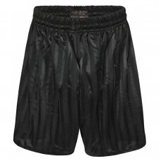 Kids Shadow Stripe PE Shorts - Black