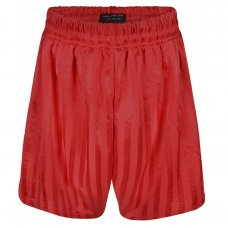 Kids Shadow Stripe PE Shorts - Red