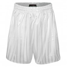 Kids Shadow Stripe PE Shorts -White