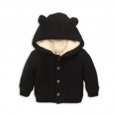 Forest 4: Knitted Fur Lined Cardigan (0-12 Months)