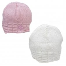 G8527: Baby Girls Hat (NB-3 Months)
