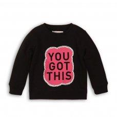 GW CREW 10: Girls You Got This Fleece Crew Sweater (3-8 Years)