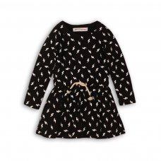 GW DRESS 1: Girls Lightning Aop Dress (9 Months-3 Years)