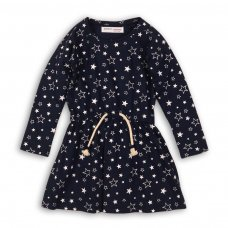 GW DRESS 11: Girls Stars AOP Dress (3-8 Years)