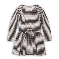 GW DRESS 2: Girls Navy Stripe Dress (9 Months-3 Years)