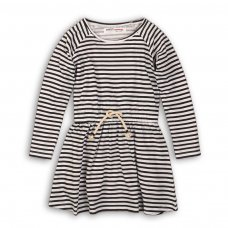 GW DRESS 2: Girls Navy Stripe Dress (9 Months-3 Years)