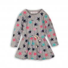 GW DRESS 4: Girls Colour Star Dress (9 Months-3 Years)