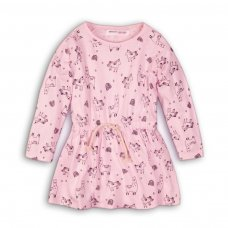 GW DRESS 5: Girls Llama Dress (9 Months-3 Years)