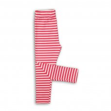 GW LEG 8: Girls Red Stripe Legging (9 Months-3 Years)