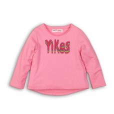 GW LTEE 6: Girls Yikes Long Sleeve Top (9 Months-3 Years)