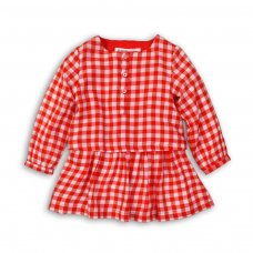 Gang 3: Woven Gingham Dress (9 Months-3 Years)
