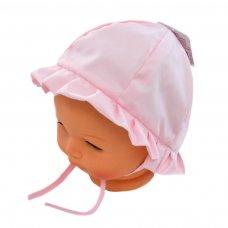 H20-P: Pink Plain Cloche Hat (0-24 Months)