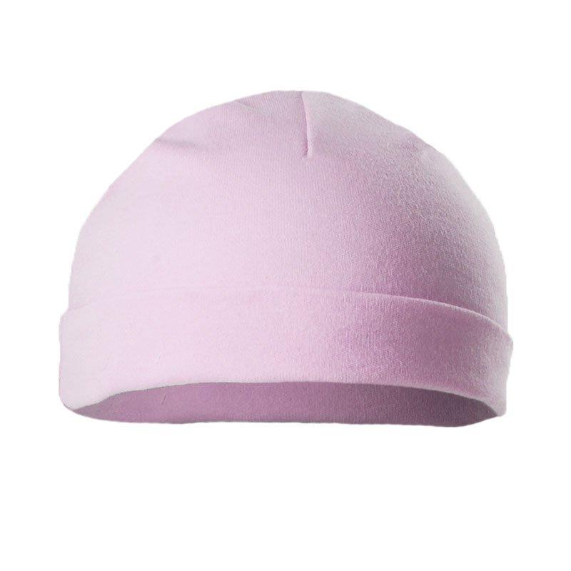 H5-P: Plain Pink Hats (Newborn-3 Months)