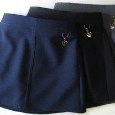 Heart Skirts - Navy